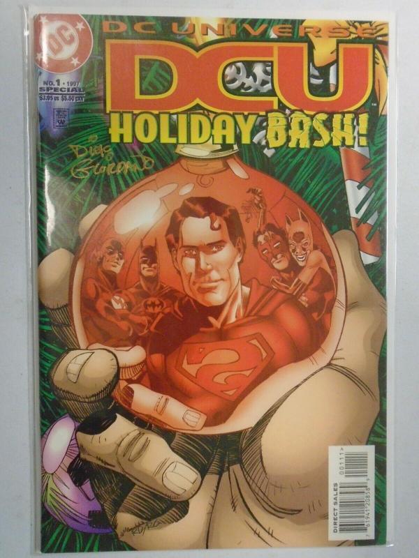 DC Universe Holiday Bash #1 Signed NM (1997)