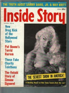 Inside story 11/1960-Simone Signoret-Pat Boone-exploitation-scandals-VG/FN