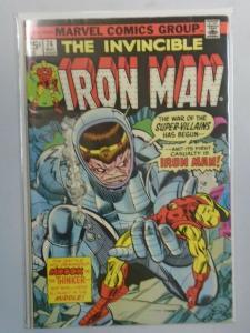 Iron Man #74 The Modok Machine! (1975 1st Series) 5.0/VG