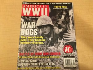 6 Magazines America In WWII War Dogs D-Day Battle Collectibles Most Wanted+ JKT6