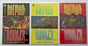 Batman Run Riddler Run set #1 to #3 - 6.0 - 1992