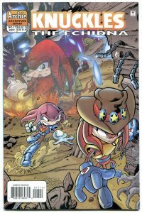 Knuckles #17 1998- Archie Comics- Sega- Echidna Sonic VF/NM