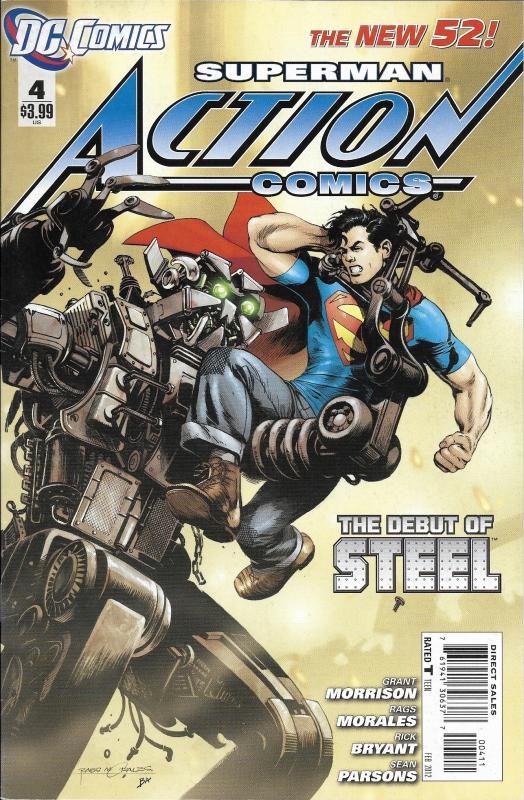 Superman Action Comics The New 52 #4