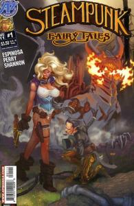 Steampunk Fairy Tales #1 VF/NM; Antarctic   save on shipping - details inside