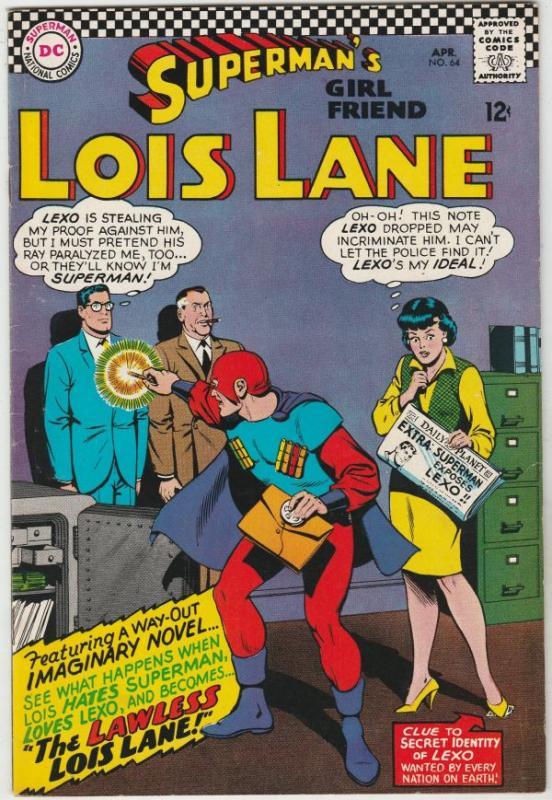 Superman's Girlfriend Lois Lane #64 (Apr-68) VF/NM High-Grade Lois Lane