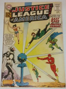 Justice League of America #12 (VG) 1st appearance of DR LIGHT (id#001)T