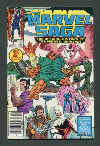 Marvel Saga #1 / 9.2 NM-  Newsstand  December 1985