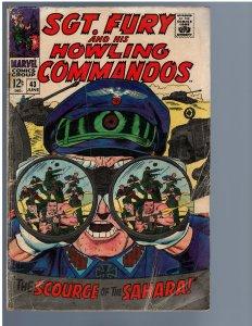 Sgt. Fury #43 (Marvel, 1967)