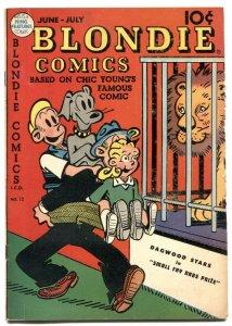 Blondie #12 1949- Golden Age comic- VG