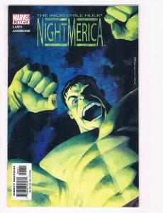 Hulk Night America # 1 Of 6 NM Marvel Comic Book Limited Series Avengers S80
