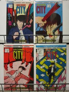 SECOND CITY (1986 HA) 1-4 PHIL ELLIOT MINI COMPLETE