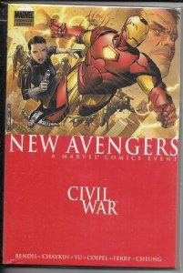 New Avengers   (V1) 05 HC: Civil War NM