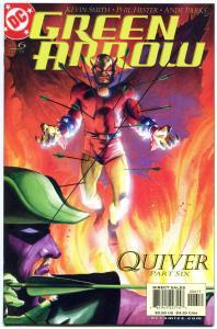 GREEN ARROW 6, NM-, Kevin Smith, Quiver, Batman, Demon, 2001, more GA in store