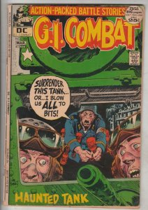 G.I. Combat #152 (Mar-72) VG+ Affordable-Grade The Haunted Tank