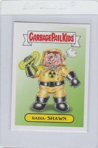 Garbage Pail Kids Radia Shawn 14b GPK 2017 Adam Geddon trading card sticker