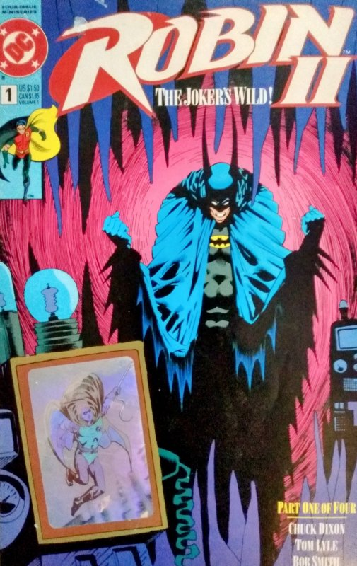 Robin II Jokers Wild All 5 Covers (1993)