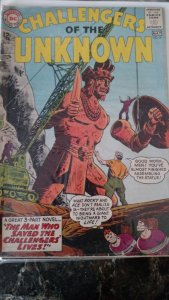 CHALLENGERS OF THE UNKNOWN #31(DC,1963) Condition Poor
