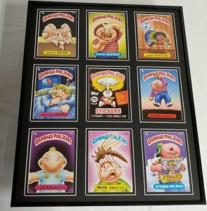Garbage Pail Kids Series 5 Framed 16x20 Display