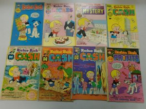 Bronze age Richie Rich lot 29 different 4.0 VG or better (Harvey)