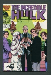Incredible Hulk #319 /  5.0 VG/FN   May 1986