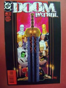 DOOM PATROL #4  NM (9.2)  OR BETTER DC COMICS