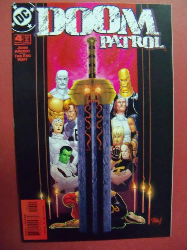 DOOM PATROL #4  NM (9.2)  OR BETTER DC COMICS