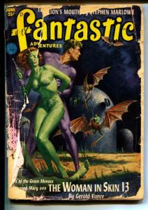 Fantastic Adventures-Pulps-6/1952-Paul W. Fairman-Don Wilcox