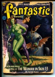 Fantastic Adventures-Pulps-6/1952-Paul W. Fairman-Don Wilcox
