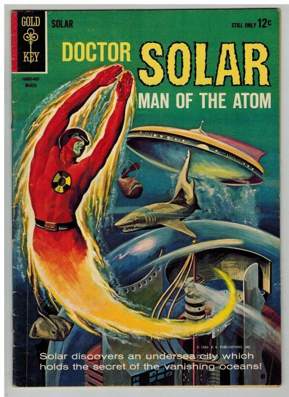 DOCTOR SOLAR (1962-1969 GK) 7 VERY GOOD March 1964