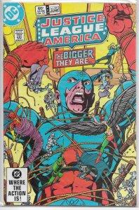 Justice League of America   vol. 1   #215 FN