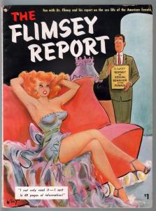Flimsey Report #1 1953-Kinsey Report parody-Bill Wenzel