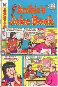 ARCHIES JOKE BOOK (1954-1982)223 VF Aug. 1976 COMICS BOOK