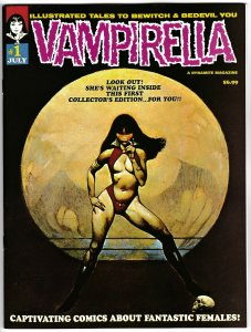 Vampirella #1 | 1969 Replica Edition Magazine (Dynamite, 2019) VF/NM