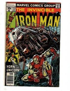 12 Iron Man Marvel Comics # 113 114 115 117 119 108 120 121 112 123 124 125 J451