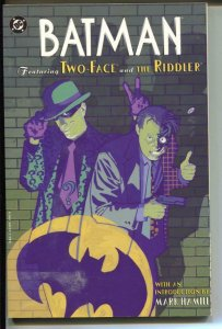 Batman: Featuring Two-Face and The Riddler-TPB-Trade