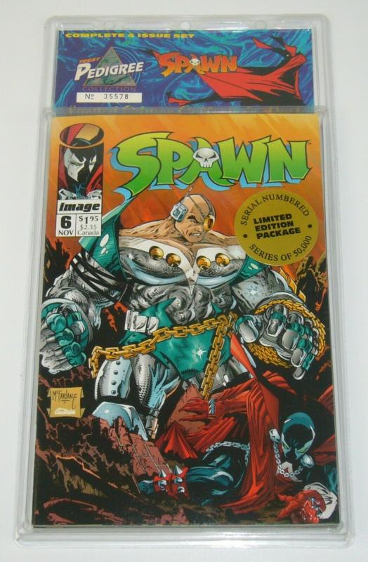 Treat Pedigree Collection: Spawn VF/NM alan moore - neil gaiman 9 (1st angela)
