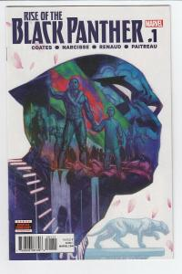 RISE OF BLACK PANTHER (2017 MARVEL) #1 NM- A78149