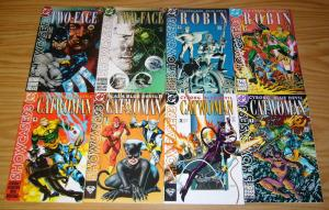 Showcase '93 #1-12 VF/NM complete series - catwoman - robin - nightwing - flash