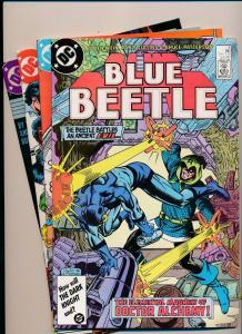 DC Comics BLUE BEETLE lot #4,10,12,20 ('86-87) ~ VF/NM (PF199) 4 Comics