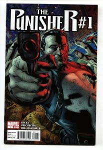 PUNISHER #1 2011 comic book MARVEL-1st ISSUE