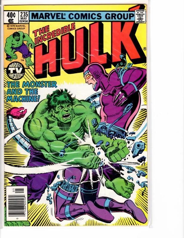 Incredible Hulk ( 1968 ) 235 Near Mint- (9.2)