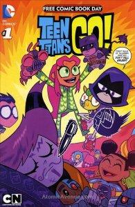 Teen Titans Go!/Scooby-Doo Team-Up FCBD #2015 VF/NM; DC | save on shipping - det