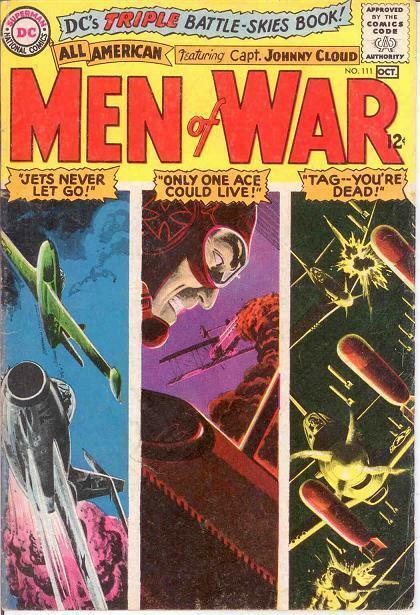 ALL AMERICAN MEN OF WAR 111 VG-F COMICS BOOK