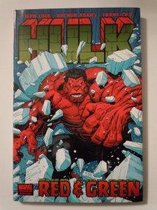 Hulk: Red & Green Hardcover (2009)