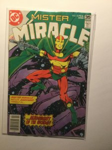 Mister Miracle 22 Very good vg 4.0 water damage Dc Comics