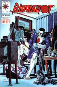 Bloodshot (1993 series) #12, VF+ (Stock photo)