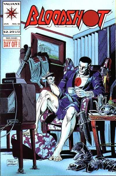 Bloodshot (1993 series) #12, NM (Stock photo)