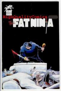 FAT NINJA #1, VF/NM, Silver Wolf,1986,Gary Amaro, Sword, food, more in store