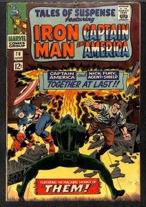 Tales Of Suspense #78 VG- 3.5 Iron Man