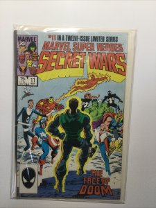 Marvel Super Heroes Secret Wars 11 Very Fine Vf 8.0 Marvel